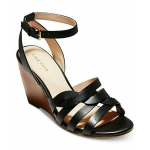 Cole Haan Myra Braided Strap Wedge Sandal